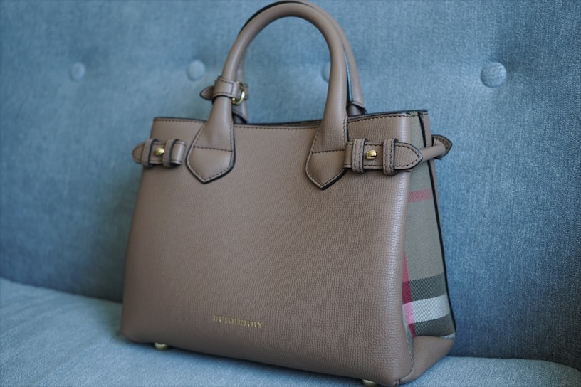 Burberry The Small Banner Tan