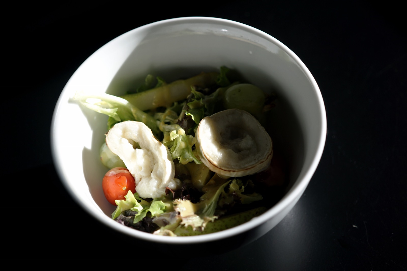 Apple and goat cheese salad recipe