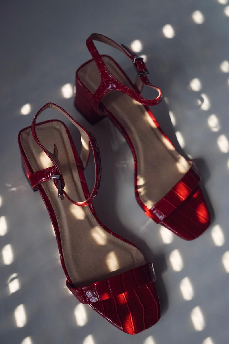 Dallas square sandals by Topshop