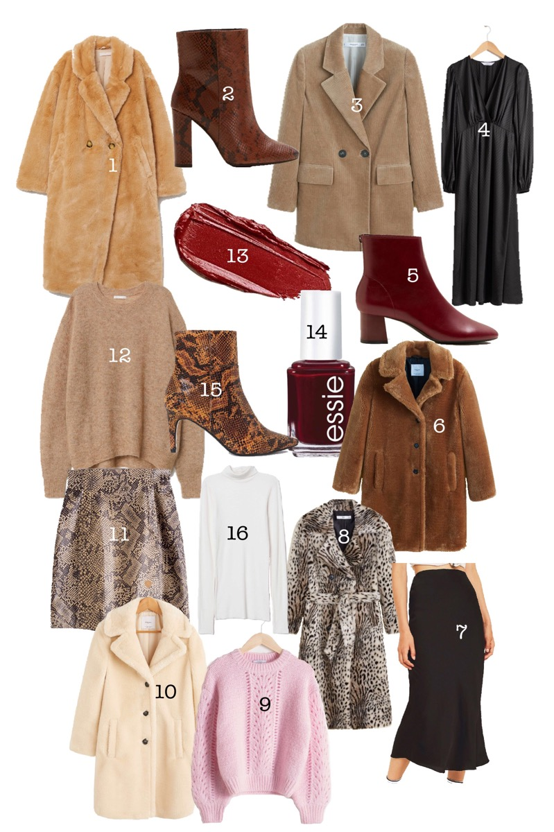 AUTUMN WINTER MUST-HAVES 2018